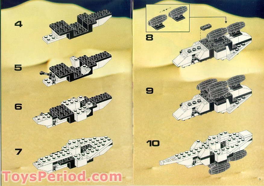 Lego 6780 Light And Sound Xt Starship Set Parts Inventory And