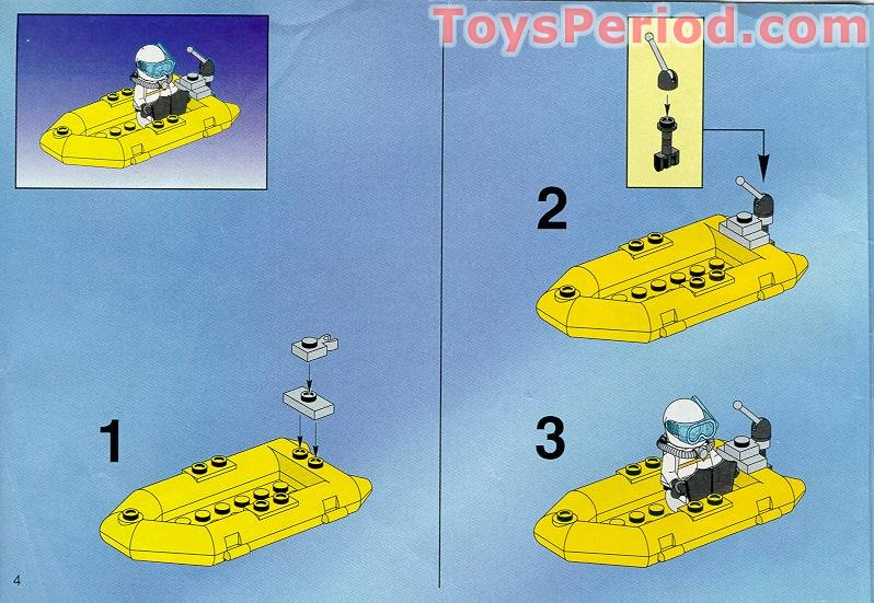Lego 6451 River Response Set Parts Inventory And