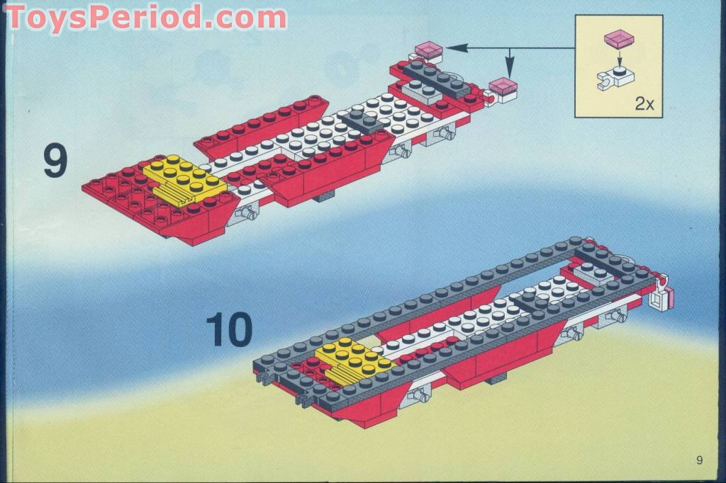 Lego 6484 F1 Hauler Set Parts Inventory And Instructions