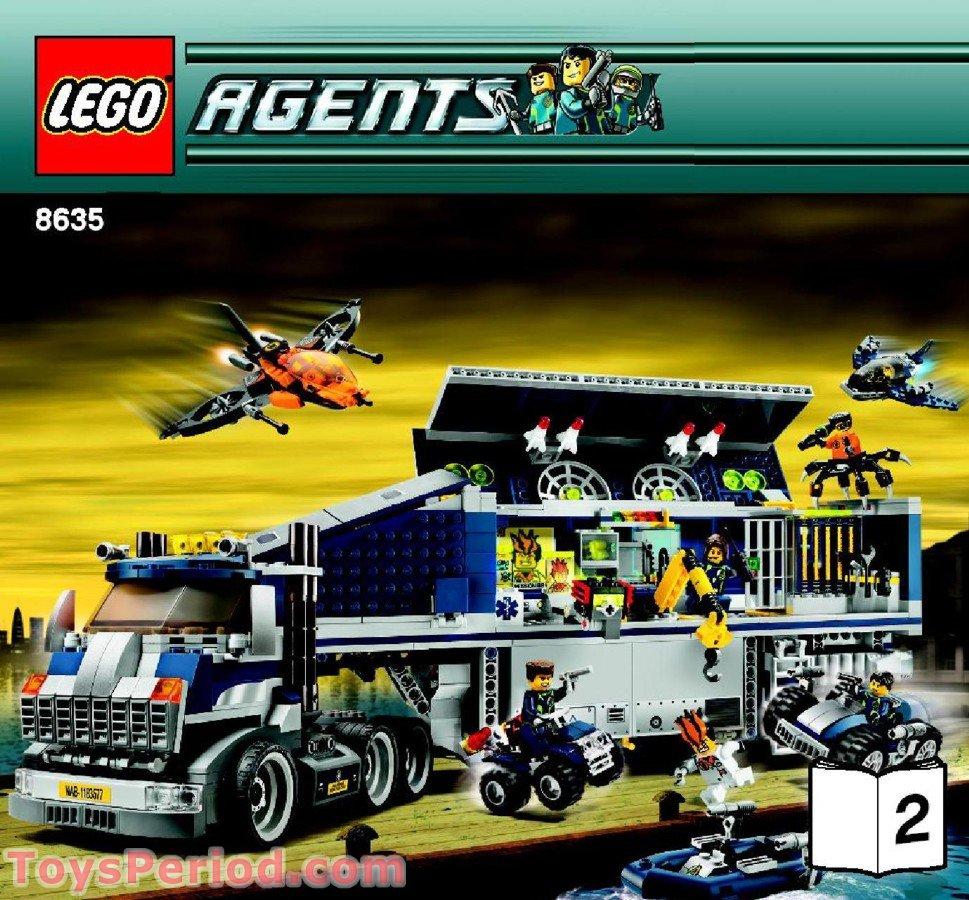 Lego Agents Mission 6 LEGO 8635 Mission 6: M...