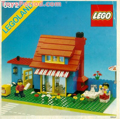 Lego 6372 Town House Set Parts Inventory And Instructions Lego