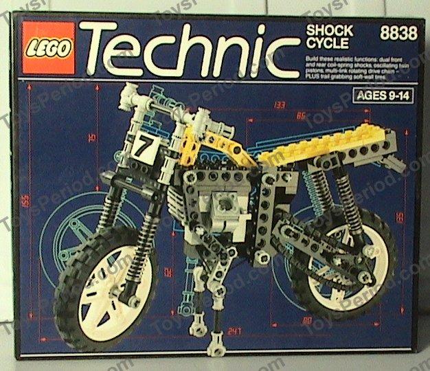 LEGO 8838 Shock Cycle Image 3