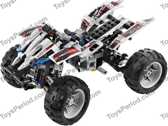 Lego 8262 Quad Bike Set Parts Inventory And Instructions Lego
