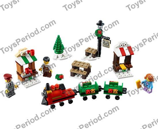 RETIRED! BRAND NEW LEGO SEASONAL HOLIDAY SANTA CLAUS 40206 CHRISTMAS SEALED