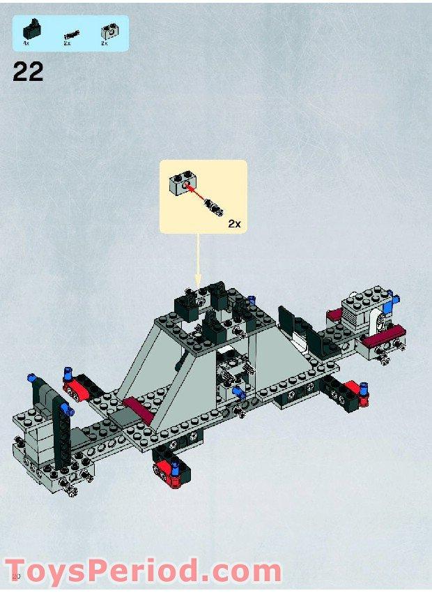lego star wars instruction manuals