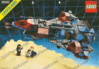 Lego space police mission commander 6986 and 6895 | ebay.