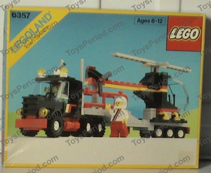 lego stunt truck instructions