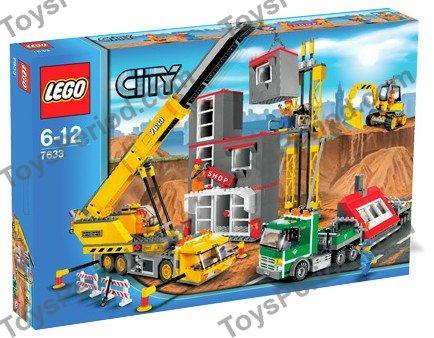Lego 7633 construction site set parts inventory and - Lego modeles de construction ...