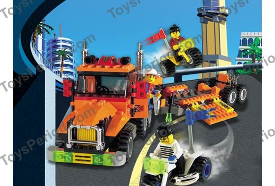 Lego 6739 Truck And Stunt Trikes Set Parts Inventory And