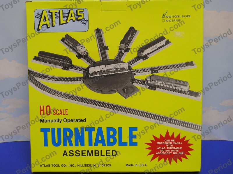 Atlas 303 HO Scale Manual Turntable Nickel Silver - New at ToysPeriod ...