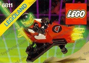 Lego ® recipe//instruction no 6811