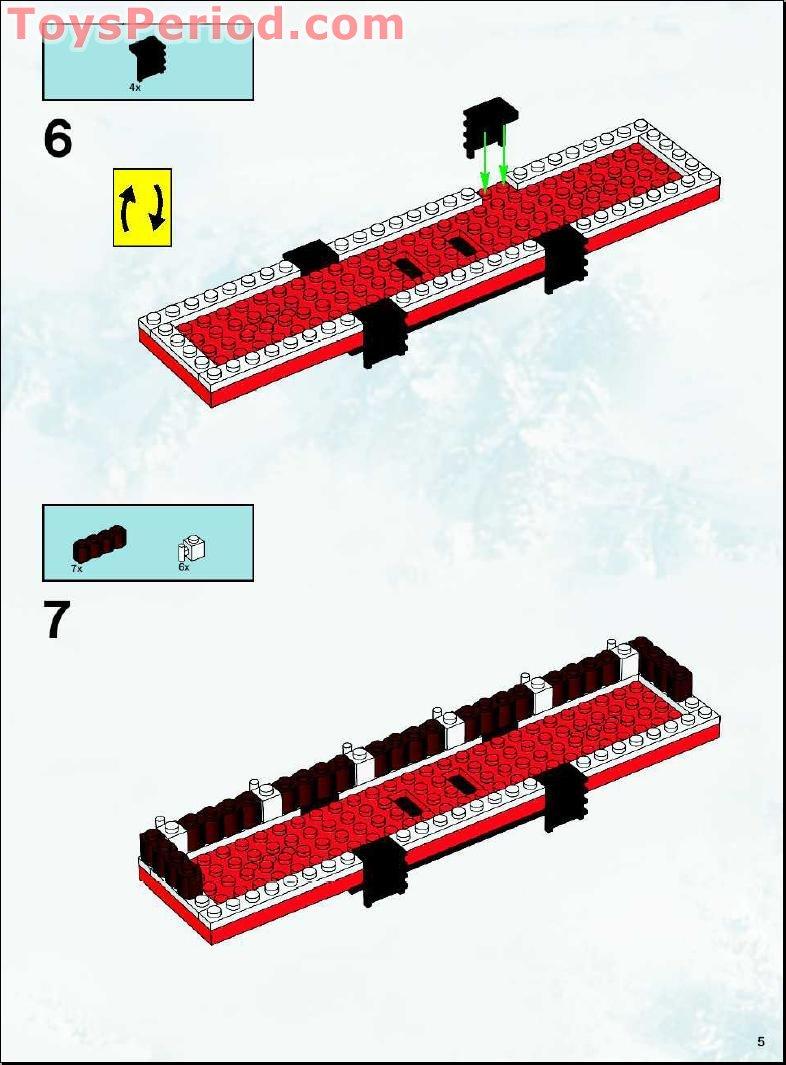 lego holiday train instructions