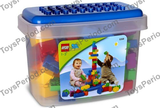 LEGO 5358 Extra Large Quatro Bucket - 100 Extra Large Bricks
