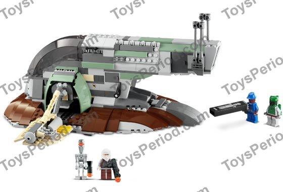 Lego 6209 Slave I Set Parts Inventory And Instructions Lego