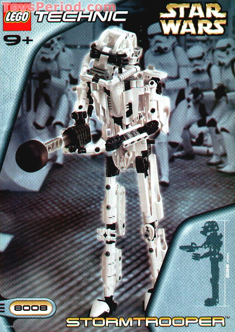 Lego 8008 stormtrooper set parts inventory and - Lego star wars 1 2 3 4 5 6 ...