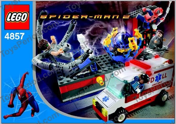 lego spiderman building instructions