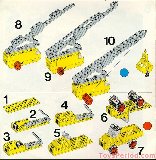 Lego 912 Universal Building Set Set Parts Inventory And Instructions