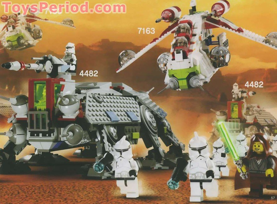 Lego 4482 At Te Set Parts Inventory And Instructions Lego