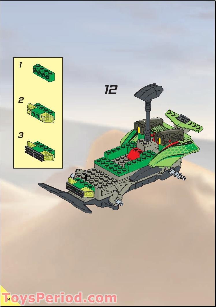 Lego 4589 Rc Nitro Flash Set Parts Inventory And