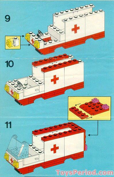 Lego 6688 Ambulance Set Parts Inventory And Instructions