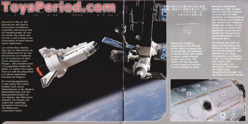 how to build a lego iss