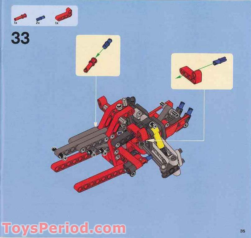 Lego 8272 Snowmobile Set Parts Inventory And Instructions Lego