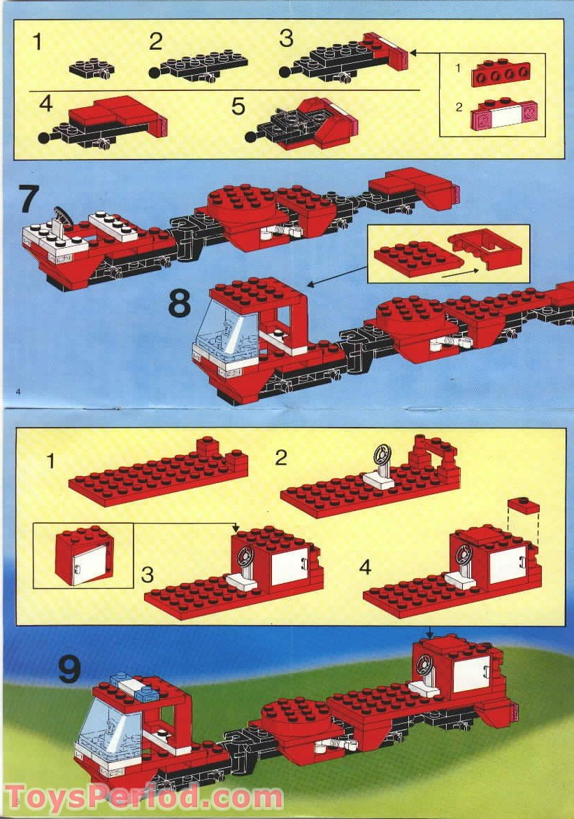 Lego 6358 Snorkel Squad Set Parts Inventory And