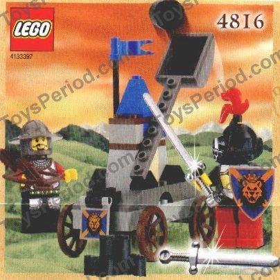 Lego polybag helmet plume triple 4502b//6085 6060 6073 6071 6079 6066 4816 6046
