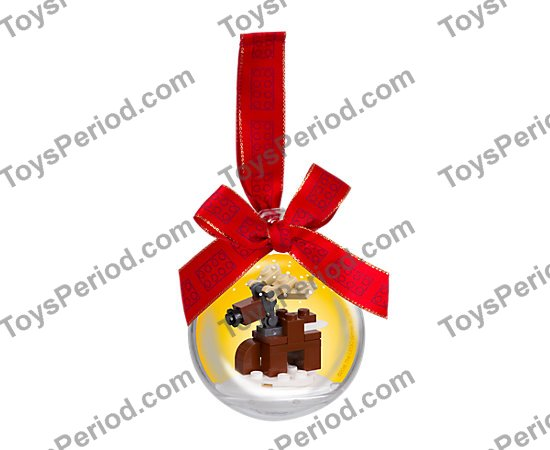 Lego 853574 Christmas Ornament Reindeer Set Parts Inventory And