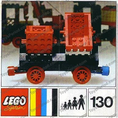Lego 130 Wagon With Double Tippers Set Parts Inventory And