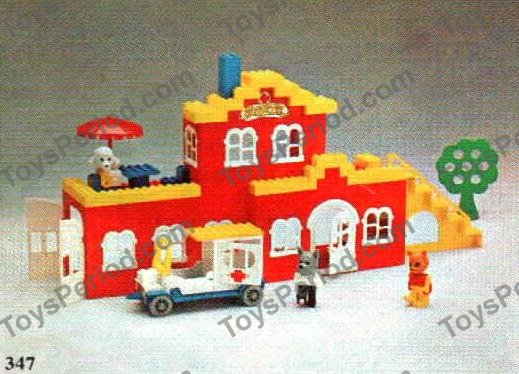Lego 347 3 Hospital Lucy Lamb And Charlie Cat Visit Doctor Dog Set