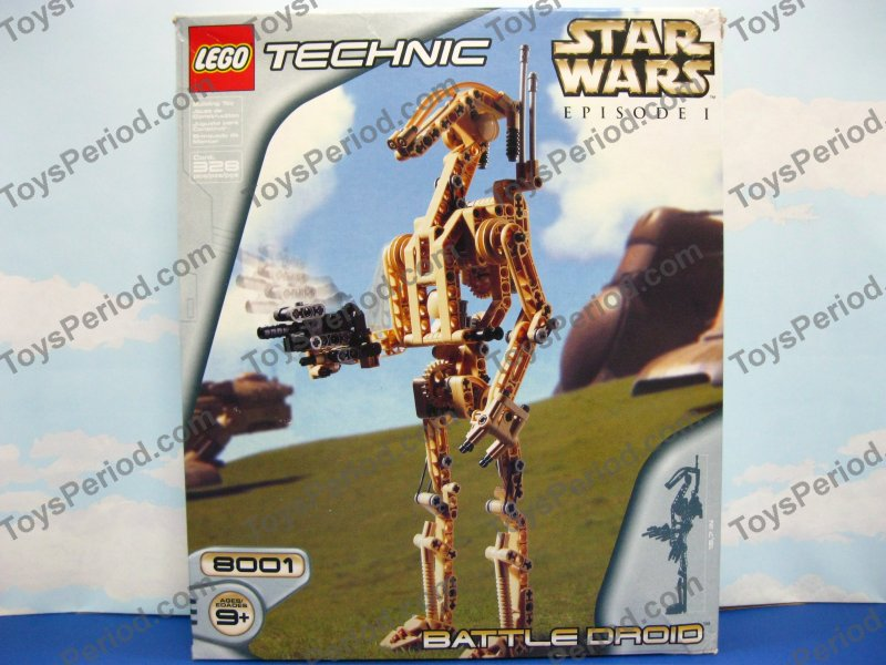 Star Wars Sets - LEGO 8001 Battle Droid Star Wars Technic Set from ...