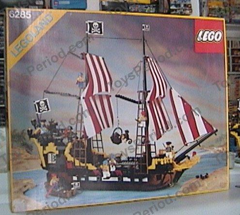 Lego 6285 Black Seas Barracuda Set Parts Inventory And Instructions