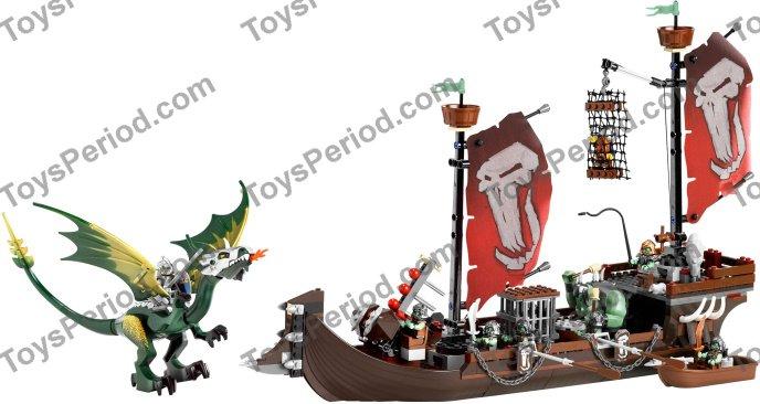 LEGO 7048  CASTLE TROLL WARSHIP   NIB   FREE SHIPPING