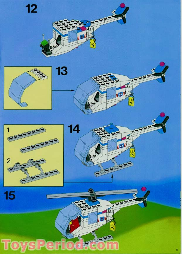 Lego 6387 Coastal Rescue Base Set Parts Inventory And Instructions