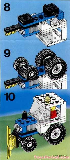 Lego 6524 Blizzard Blazer Set Parts Inventory And
