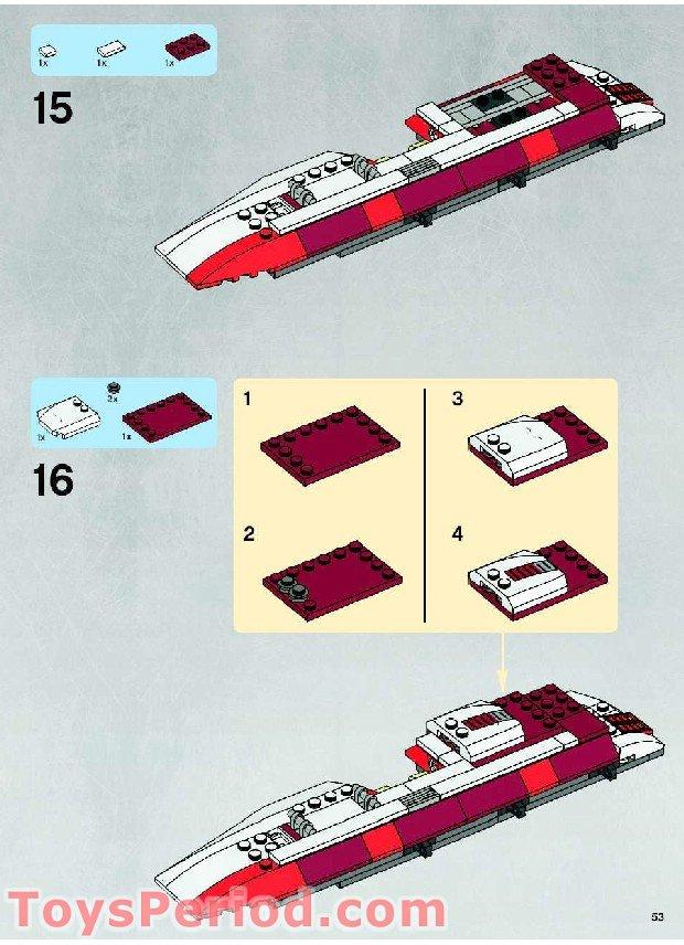 lego republic fighter tank instructions