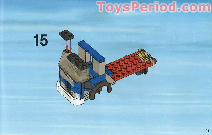 lego city harbour 7994 instructions