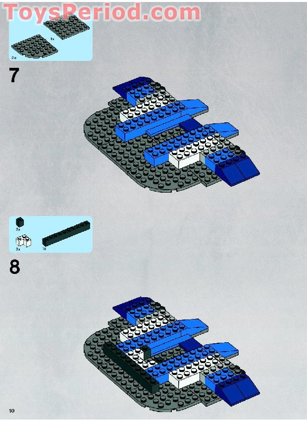 Lego 8018 Armored Assault Tank Aat Set Parts Inventory And