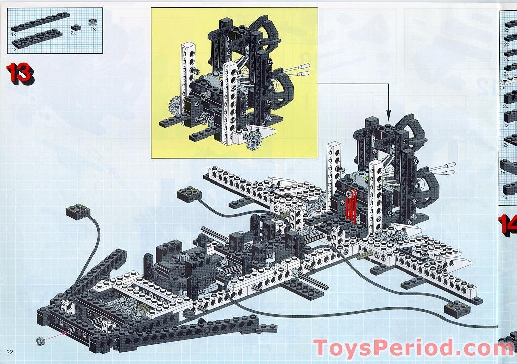 lego technic space shuttle parts list - photo #28