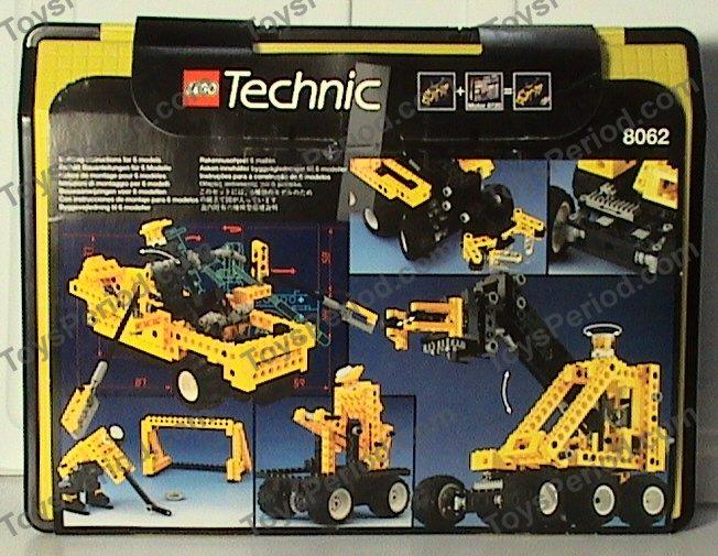 LEGO 8062 Universal Set with Storage Case Image 2 & LEGO 8062 Universal Set with Storage Case Set Parts Inventory and ...