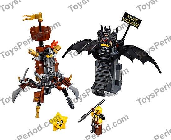 1 THE LEGO MOVIE 2 Battle-Ready Batman and MetalBeard 70836 Damaged box