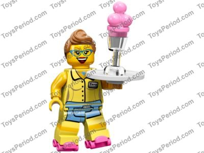 NEW Lego Female Minifig Dark RED LIPSTICK Girl Friends Minifigure Lip Utensil