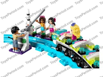 Lego Friends Roller Coaster Track Curved track piece