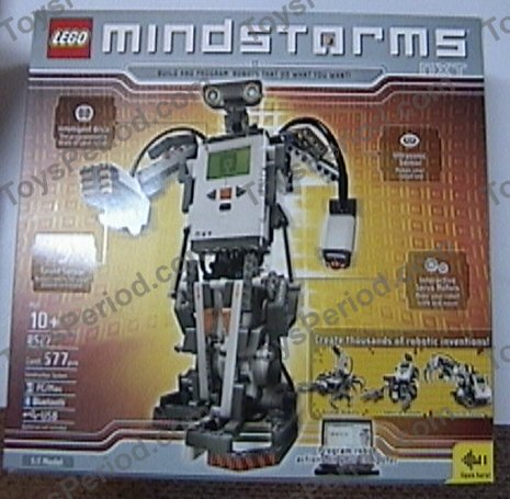 LEGO 8527 LEGO Mindstorms NXT Set Parts Inventory and Instructions ...