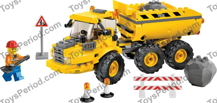 lego yellow truck instructions