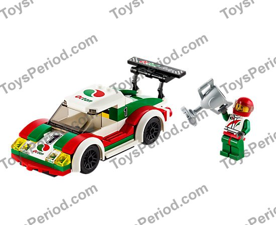 Lego 60053 Race Car Set Parts Inventory And Instructions Lego