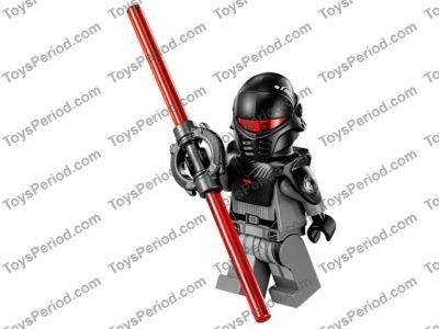 LEGO 75082 TIE Advanced Prototype Set Parts Inventory and ...