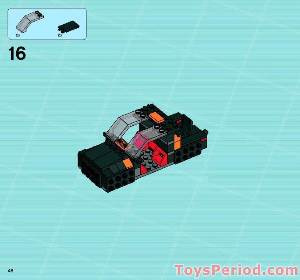 Lego Agents 8630 Mission 3 Gold Hunt INSTRUCTION BOOK ONLY No Lego bricks
