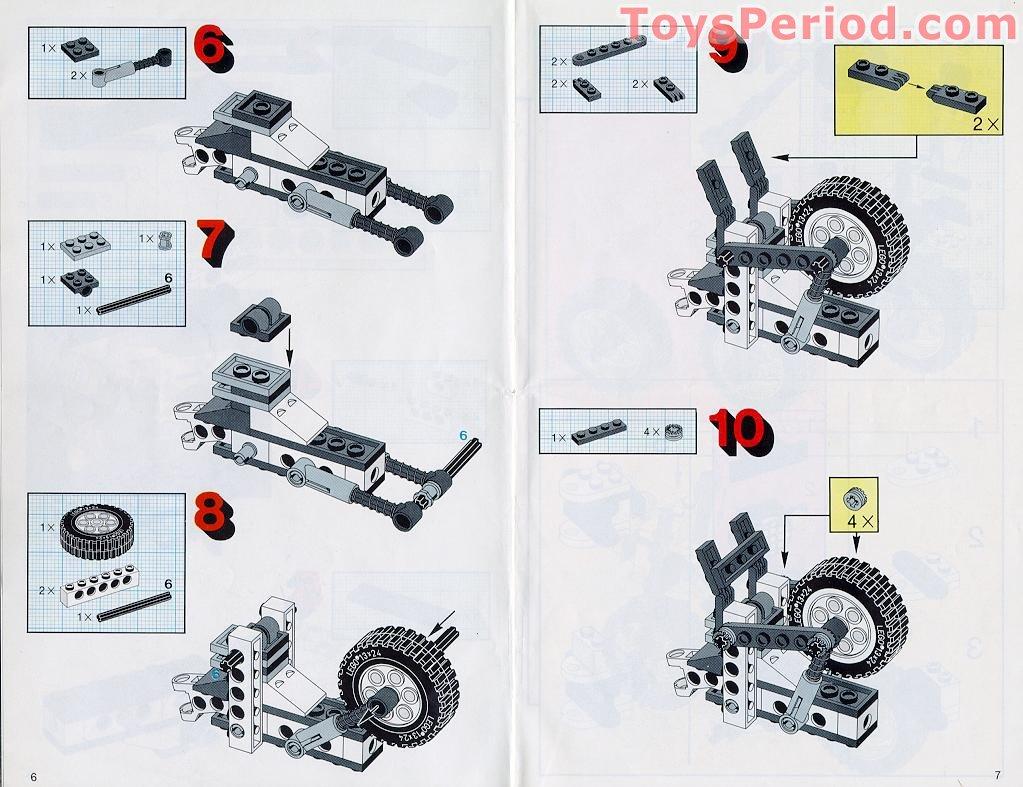 lego motorcycle instructions manual